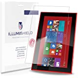 iLLumiShield - Nokia Lumia 2520 Screen Protector Japanese Ultra Clear HD Film with Anti-Bubble and Anti-Fingerprint - High Quality (Invisible) LCD Shield - Lifetime Replacement Warranty - [2-Pack] OEM / Retail Packaging