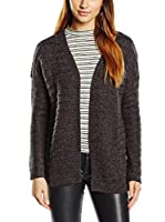 Tom Tailor Denim Chaqueta Punto Strickjacke soft knit coat/511 (Gris)
