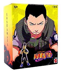 Naruto Mattel 3 Inch PVC Tree Diorama Single Figure Series 1 Shikamaru (#3 of 10)