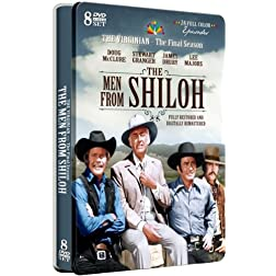 The Men from Shiloh - The Final Season from The Virginian- 24 Full Color Episodes! - Special Embossed Tin Packaging!