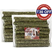 Spectrum Group Pack Of 2 Natural Chew Sticks For Dogs, 80 Sticks