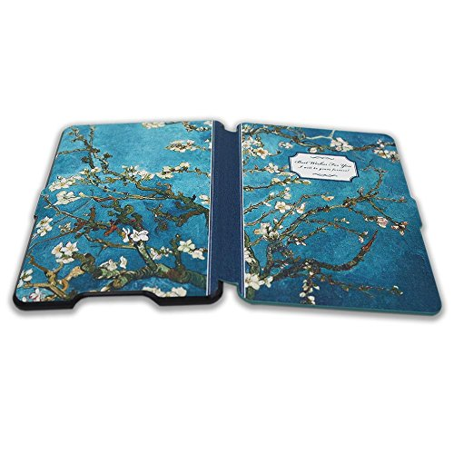 Kindle Paperwhite Book Cover Art ~ Kandouren kindle paperwhite case van gogh apricot