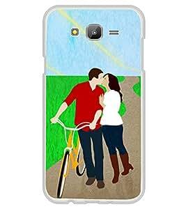 Kissing Love Couple 2D Hard Polycarbonate Designer Back Case Cover for Samsung Galaxy E5 (2015) :: Samsung Galaxy E5 Duos :: Samsung Galaxy E5 E500F E500H E500HQ E500M E500F/DS E500H/DS E500M/DS