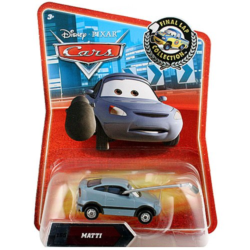 Disney / Pixar CARS Movie Exclusive 155 Die Cast Car Final Lap Series Matti - 1