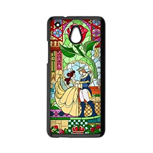 Disney Cartoon Beauty and the Beast HTC One Mini Hard Case