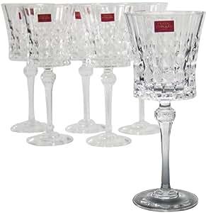 Buy goblets cristal d 39 arques lady diamond goblets set for Arc decoration arques