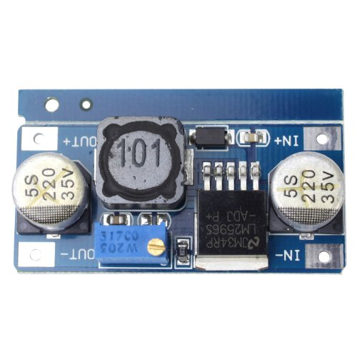 Mogoi(Tm) Lm2596 Dc-Dc Buck Converter Step Down Module Power Supply Output 1.23V-30V With Mogoi Accessory Wire Winder