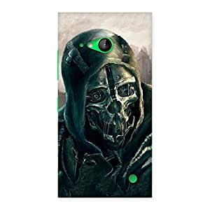 Gorgeous Deadly Skull Back Case Cover for Lumia 730