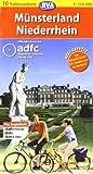 ADFC Radtourenkarten : M�nsterland/Niederrhein