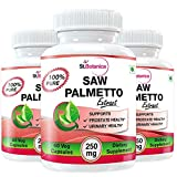 StBotanica Saw Palmetto - 250mg Extract - 60 Veg Caps - Buy 2 Get 2 Free + Extra 25% Off