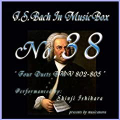 Bach In Musical Box 38?Four Duette Bwv 802-805