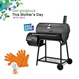 RoyalGourmet 30in Charcoal Grill with Offset Smoker Offer 682 Sq Inches Cooking Area CC1830F