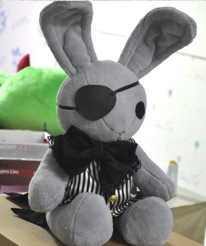 Black Butler Kuroshitsuji Ciel Phantomhive Rabbit Cosplay Plush Doll