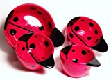 Ceramic Ladybug Kitchen Nesting Measuring Cups - Set of 4