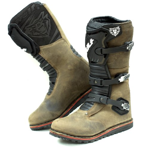 Wulf Trials Adult Boots 42 Brown (UK 8)