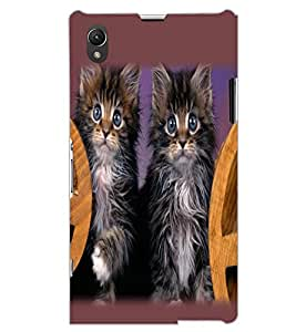 SONY XPERIA Z1 CATS Back Cover by PRINTSWAG