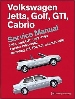 Volkswagen Jetta, Golf, GTI: 1993, 1994, 1995, 1996, 1997, 1998, 1999
