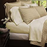 Bedding sets- Eco-Friendly Organic Bamboo Bed Sheets Queen Size Cream Color Sheets These soft silky smooth sheets and pillow cover make for a comfortable good night sleep.