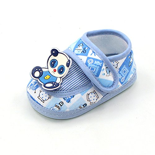 Msmushroom New Cotton Toddler Shoes Baby Shoes Blue,5M