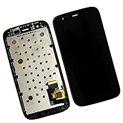 Online For Good(TM) Full LCD Touch Digitizer Screen Replacement for Motorola MOTO G XT1032 XT1033 first generation - Black