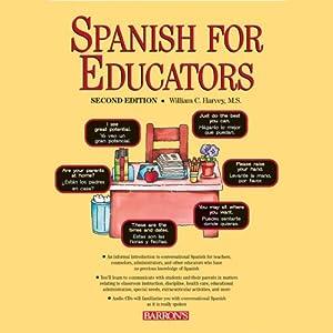 Spanish for Educators Audiobook