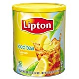 Lipton Iced Tea Natural Lemon Makes 20 Quarts. 1.5kg