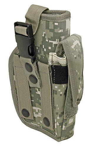 Airsoft Holster MOLLE ACU Camo Ambidextrous Gun Holster BB Airsoft Pistol Hand Tactical Tactical Holster Gun Holster (Kydex Mag Insert compare prices)
