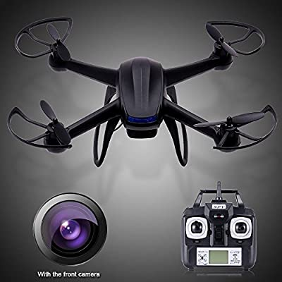PowerLead Pqad D009 Quadcopter Drone 6 Axis Gyro Explorer UFO with (Two-mega-pixel Camera) LCD Remote Control With HD Camera. Spy Explorers 4 Channel 2.4GHz Quadcopter by PowerLead