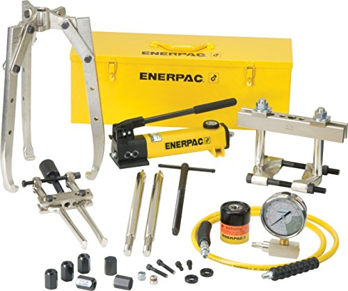 Bhp Series Hydraulic Master Puller Sets : Enerpac bhp hydraulic master puller set with ton