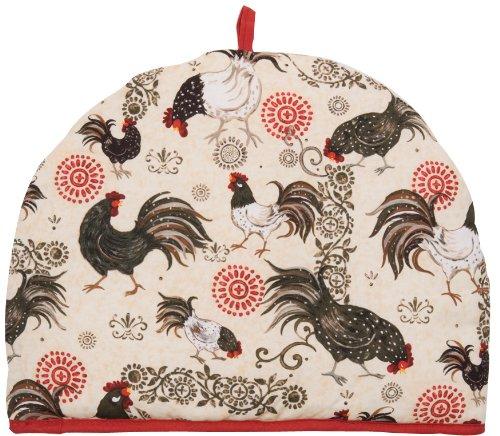 Now Designs Tea Cozy, Rustic Roosters