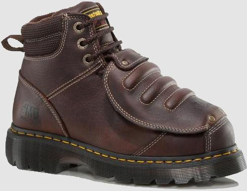 Dr. Martens Men'S Ironbridge Mg St Steel-Toe Met Guard Boot,Teak,10 Uk/11 M Us front-731201