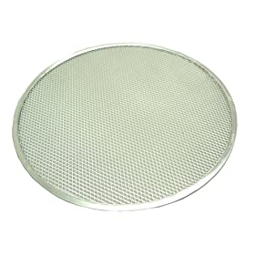 Winware Seamless Aluminum Pizza Screens
