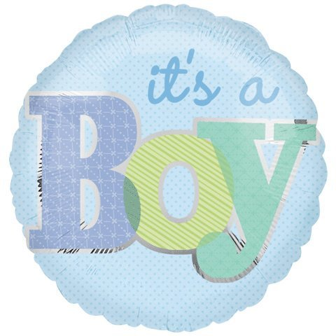 18 Inch Discount It'S A Boy Type Balloon front-857940