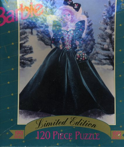 Barbie Limited Edition 120 Piece Puzzle - 1991 Holiday Doll