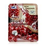 3W Clinic Mask Sheet - Fresh Pomegranate - 3W Clinic