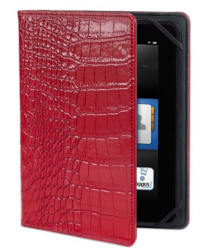 """Verso Trends Darwin Croc Case For Kindle Fire Hd 7"""" (Previous Generation), Red (Will Only Fit Kindle Fire Hd 7"""", Previous Generation)"""