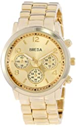 Breda Women's 2374-Gold Bailey Watch