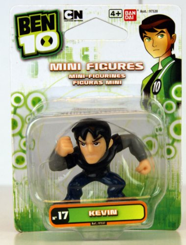 "Ben 10 - Mini Figure - No. 17 Kevin - 1.5"" Mini Figure - 97337"