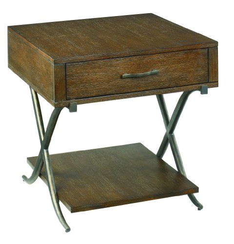 Cheap Hammary Crosswinds Drawer End Table (155-915)