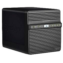 Synology DiskStation DS411 (Diskless) Network Attached Storage - Black