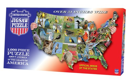 Cheap Fun TDC games USA Shaped State – Birds Puzzle (B001CUVHKY)
