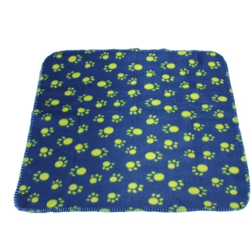 Paw Prints Blanket Mat Dog Pet Warm Soft Bed
