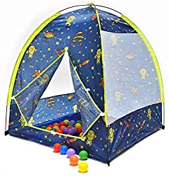 Space & Exploration Play Tent w/ 100 Phthalate Free Balls