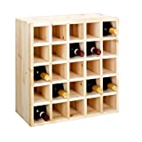 Wine rack, bottle rack system CUBE 52 nature module 3