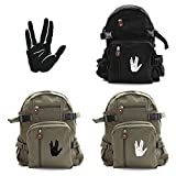 Star Trek Live Long and Prosper Hand Sport Heavyweight Canvas Backpack Bag