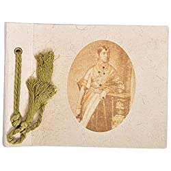 In Design Cardboard Handmade Paper Photo Album (EH07, Beige)