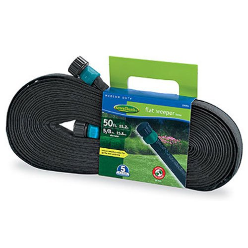 Bosch Garden & Watering 27050GT Green Thumb Flat Weeper & Soaker Hose, 50 (Weeper Hose compare prices)