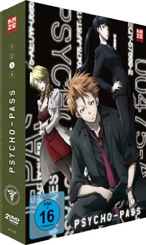 Psycho-Pass, Volume 3 - DVD