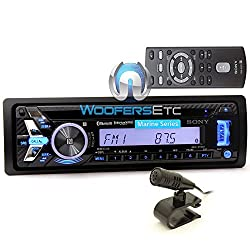See MEX-M70BT - Sony 1-DIN In-Dash USB/CD/MP3 Marine Stereo Receiver with Built-In Bluetooth Details