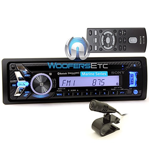 MEX-M70BT - Sony 1-DIN In-Dash USB/CD/MP3 Marine Stereo Receiver with Built-In Bluetooth